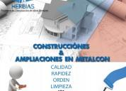 Construcciones & ampliaciones en metalcon