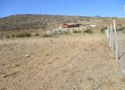 Vendo parcela de 5000mts2 sector el romero en sere