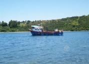 Embarcación industrial marina
