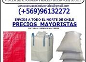 Comercializadora de sacos y maxisacos +56996132272