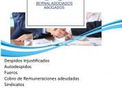 Abogados laborales - providencia