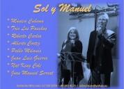Sol y manuel dúo de cantantes cubanos
