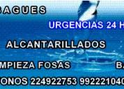 destape de alcantarillados wc recoleta 224922753