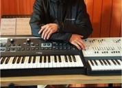Clases de piano teclado a domicilio en santiago