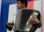 Dicto clases de acordeon para ninos y adultos en santiago
