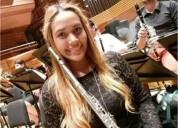 Doy clases de flauta traversa piccolo iniciacion musical flauta dulce en santiago