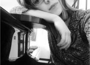 Profesora de piano y musica en santiago
