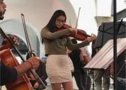 Profesora de violin y viola en santiago