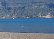 Cabañas frente al lago   en  coñaripe