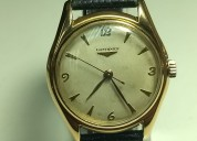 Reloj longines oro 1959