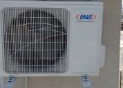 aire acondicionado instalado.