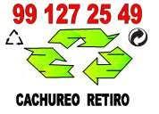 Cachureo  retiro 991 272 549..todas comunas
