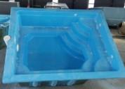 Construcción de piscinas de fibra de vidrio