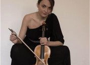 Docente de violin titula y profesora de la universidad mayor disponibles para clases particulares en