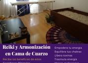 Reiki y armonizacion en cama de cuarzo