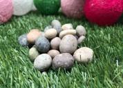 Piedra porotito para hermosear tu jardin