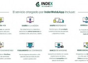 Diseño y creacion de paginas web indexweb coquimbo