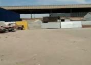 Arriendo amplio galpon y terreno 2000 m2 en avenida principal arica y parinacota