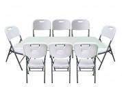 arriendo de sillas y mesas iquique