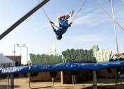 Bungy trampolin 100 m2 providencia