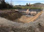 Excavaciones para piscina curico