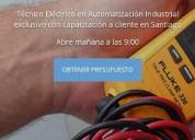 Electrico electronico a domicilio con capacitacion incluida santiago