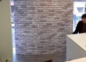 Instalacion papel mural vregion vina del mar