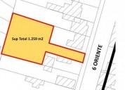 Se vende terreno casa en 6 oriente entre 16 y 18 sur talca