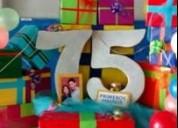 Letras y numeros a escala santiago