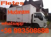Transporte mudanzas camion amplio cerrado 4000 kgs 20 mts cub puerto montt