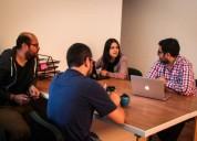 Espacios colaborativos por horas o mes cowork concepcion