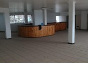 Local comercial 250 m2 planta libre ascensor exclusivo rancagua