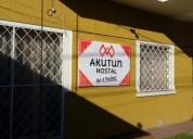 Hostal akutun a 50 m de terminal de buses de curico at empresa