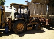 Retroexcavadora caterpilar 416 b traccion simple 8 millones quintero