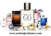 Actitud! perfumes originales