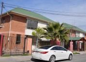 Casa de 2 pisos, villa jardín del sur ii, maipú