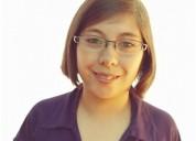 Profesora de historia y ciencias sociales ofrece clases en santiago