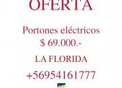 Electricista / portones eléctricos / la florida