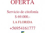 Citofono / servicios de citofonía / la florida