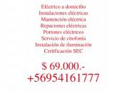 Electricista / a domicilio / vitacura