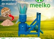 Máquina para pellets con madera 200 mm pto