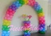 Decoración con globos para fiestas, bautizos, etc