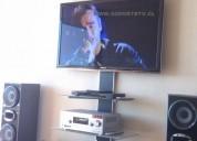 Mueble con soporte para tv