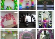 Arcos de globos para cumpleaños y eventos