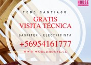 Gasfiter / electricista / a domicilio / vitacura
