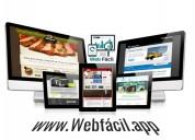 Diseño de paginas web profesionales, fáciles de ad