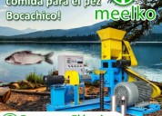 Extrusora meelko para pellets flotantes para peces