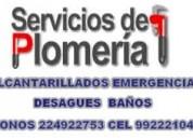 Alcantarillados emergencias la reina  232532482