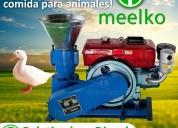 Peletizadora meelko 120 mm 8 hp diesel