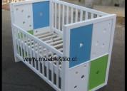 Cuna de bebe, fabrica cunas de madera en santiano